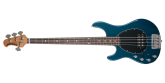 Ernie Ball Music Man - Sterling 4 Bass Left-Handed - Vintage Blue Pearl
