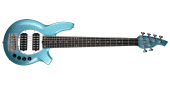 Ernie Ball Music Man - Bongo 6 Bass Guitar - Aqua Sparkle