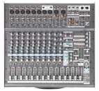 Yorkville Sound - 12-Channel 2,000-Watt  Powered Desk Mixer