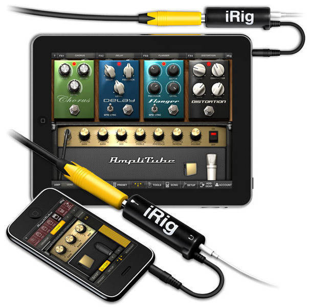 Ik Multimedia Guitar Interface For Iphone Ipad Long