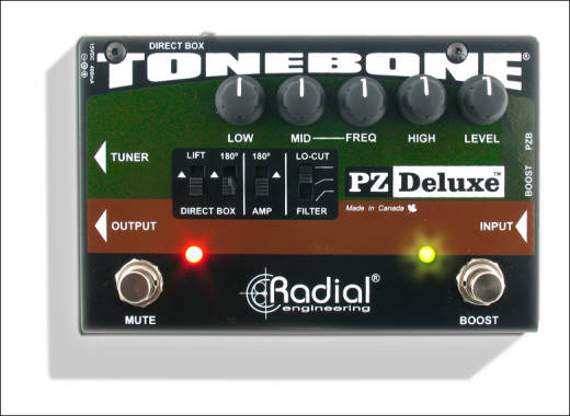 Radial PZ Deluxe Acoustic Instrument Preamp