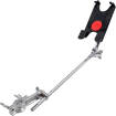 Gibraltar - Tablet Mount with Long Boom Arm and Grabber Clamp