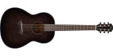 Yamaha - CSF1M Solid Top Acoustic-Electric Parlour Guitar - Translucent Black Burst