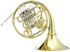 Hans Hoyer - Professional Double French Horn with Geyer Wrap, Removable Bell - Lacquered