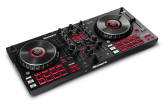 Numark - Mixtrack Platinum FX 4-Deck DJ Controller with Jog Wheel Displays and FX Paddles
