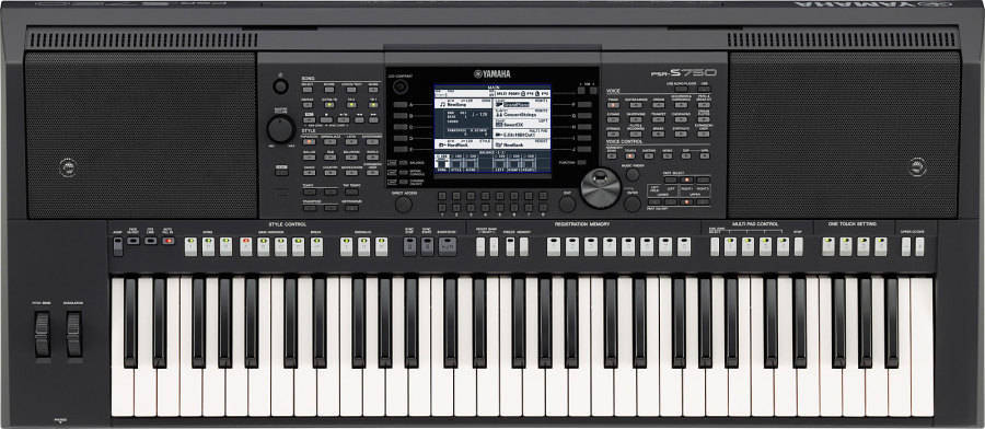 Yamaha psr s750 arranger workstation keyboard long for Yamaha music school locations