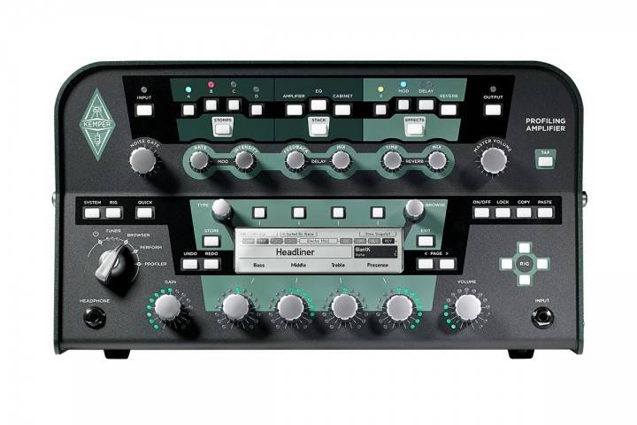 Kemper Amps Profiler Head Black Long Amp Mcquade Musical