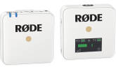 RODE - Wireless GO Compact Wireless Microphone System - White