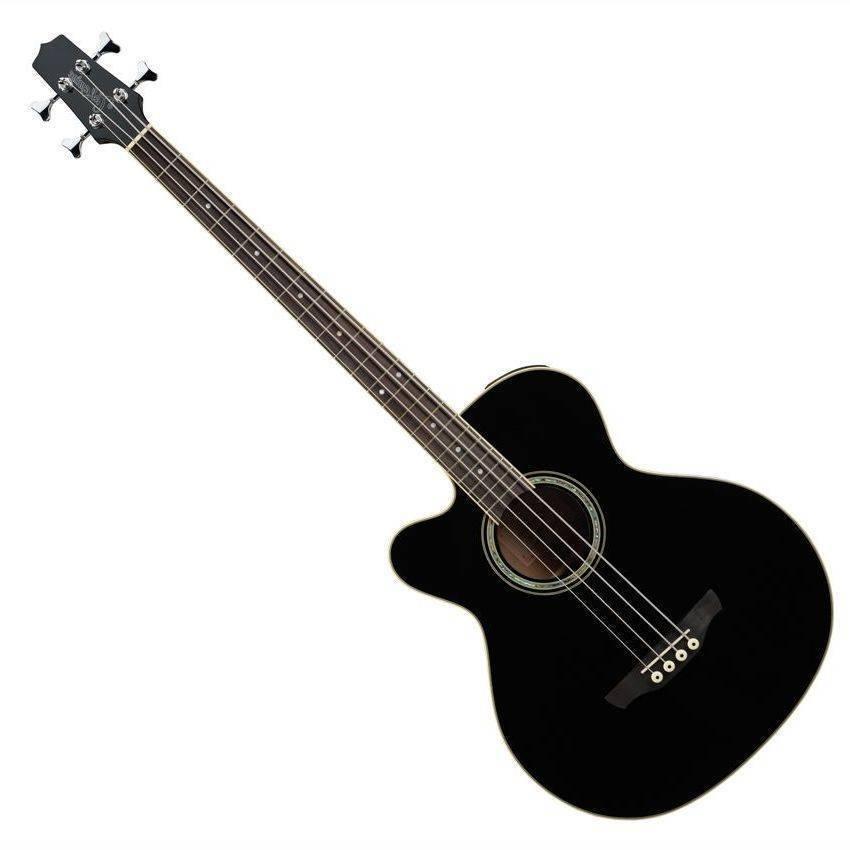 Takamine G Series GB72CE-NAT Jumbo Acoustic Electric Bass ...