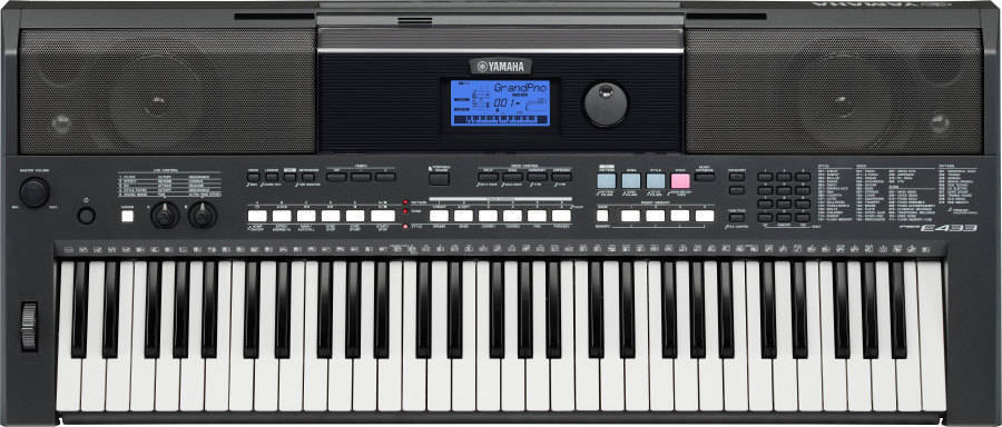 Yamaha psre433 yamaha portable keyboard long mcquade for Yamaha music school locations