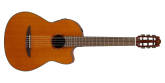 Yamaha - NCX1C Acoustic-Electric Classical Guitar with Solid Cedar Top