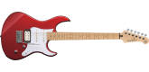 Yamaha - Pacifica 112VM Electric Guitar with Maple Fingerboard - Red Metallic