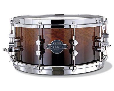 0ffd730e62c6 Sonor Ascent Snare - Ebony Stripes 14x6.5 - Long   McQuade Musical ...