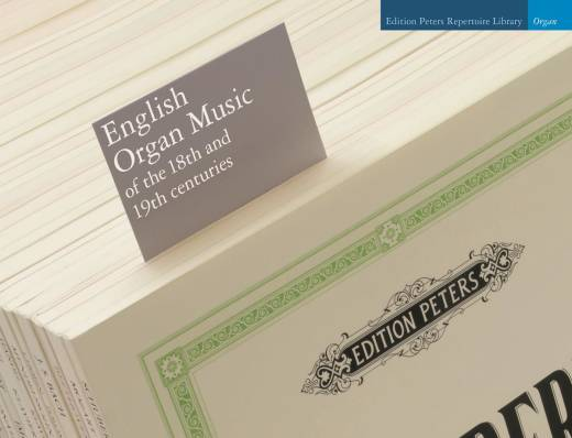 English Organ Music of the 18th and 19th Centuries - Organ - Book