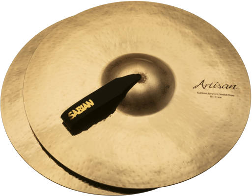 Artisan Traditional Symphonic Medium Heavy Cymbals (Pair), Brilliant Finish - 16''