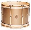 A&F Drum Co. - Club Series Maple Bass Drum with Maple Hoops and Nickel Hardware, 14x20 - Deco Gold