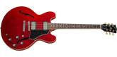 Gibson - ES-335 DOT Semi-Hollow Body Electric - Sixties Cherry