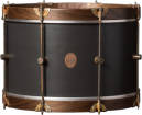 A&F Drum Co. - Club Series 14x24 Bass Drum with Maple Hoops - Charcoal Gray