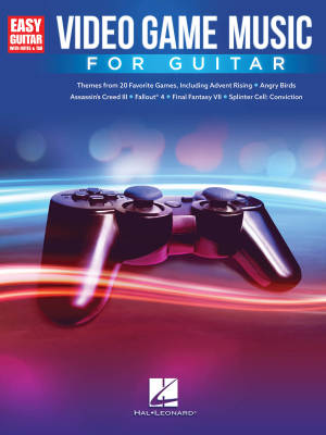 Video Game Music for Guitar - Guitar TAB - Book