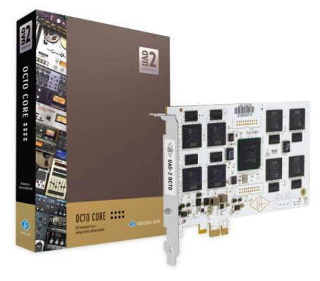 UAD-2 OCTO Audio PCIe Card w/ Core Software Package