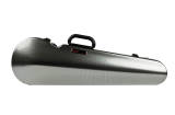 Bam Cases - Hightech Contoured Violin Case - Silver Carbon