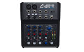 Alesis - MultiMix 4 USB FX Four-channel Mixer with Effects and USB Audio Interface