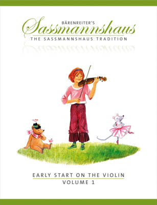Early Start on the Violin, Volume 1 - Sassmannshaus - Violin - Book