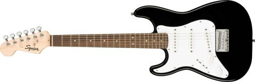 Mini Strat w/Laurel Fingerboard, Left-Handed - Black