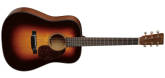 Martin Guitars - D-18 Spruce/Mahogany Dreadnought Acoustic Guitar with Case - Sunburst