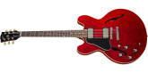 Gibson - ES-335 DOT Semi-Hollow Body Electric, Left-Handed - Sixties Cherry