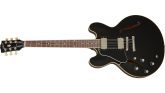 Gibson - ES-335 DOT Semi-Hollow Body Electric, Left-Handed - Vintage Ebony