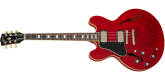 Gibson - ES-335 Figured Semi-Hollow Body Electric, Left-Handed - Sixties Cherry