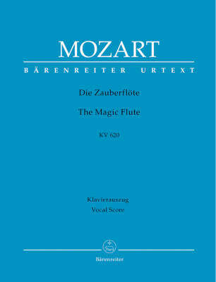 The Magic Flute K. 620 - Mozart/Gruber/Orel - Vocal Score - Book