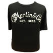 Martin Guitars - Classic Logo T-shirt, Black - Medium