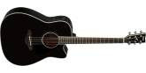 Yamaha - FGX830C Acoustic-Electric Guitar - Black