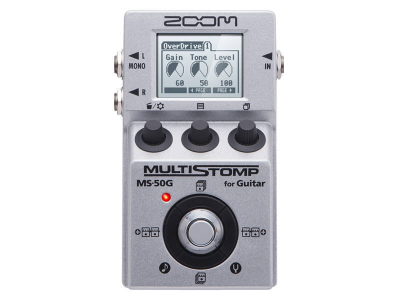 zoom multistomp guitar effects pedal long mcquade musical instruments. Black Bedroom Furniture Sets. Home Design Ideas