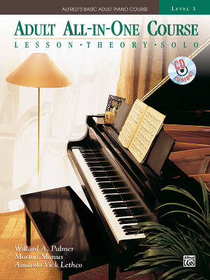Alfred's Basic Adult All-in-One Course, Book 3 - Palmer/Manus/Lethco - Piano - Book/CD