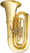 B&S - BBb 4-Valve Rotary Tuba with 17.7 Bell - Lacquered