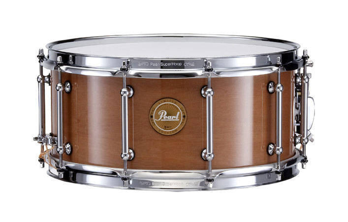 pearl 14x6 5 inch natural kapur snare drum long mcquade musical instruments. Black Bedroom Furniture Sets. Home Design Ideas