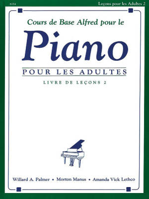 Alfred's Basic Adult Piano Course: French Edition Lesson Book, Level 2 - Palmer/Manus/Lethco - Piano - Book