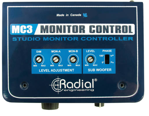MC3 Studio Monitor Controller