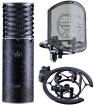 Aston - Limited Edition Spirit Black Microphone Bundle with Mount and Shield Filter