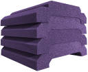 Auralex - WaveCave Royale 12x24 Acoustic Foam (4-Pack) - Purple