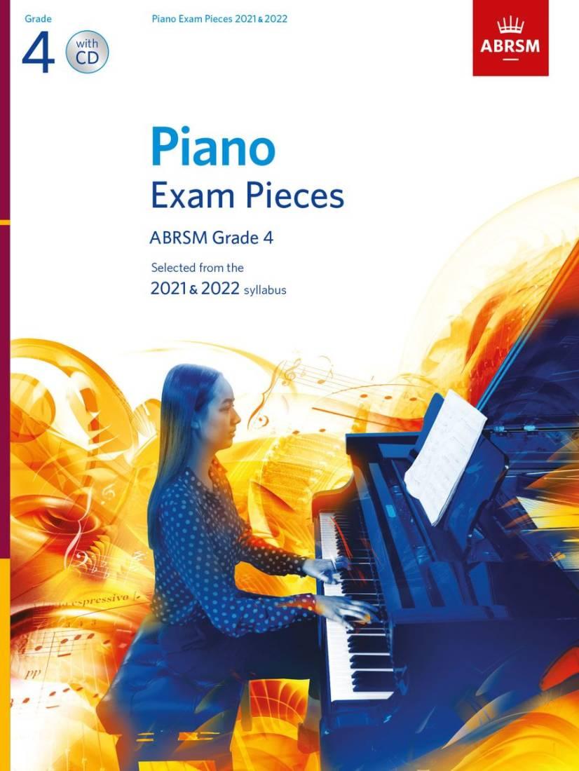 ABRSM Grade 3 Piano 2021-2022 Selected Exam Pieces Book CD