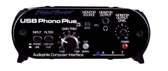 art pro audio phono preamp interface w usb long mcquade musical instruments. Black Bedroom Furniture Sets. Home Design Ideas