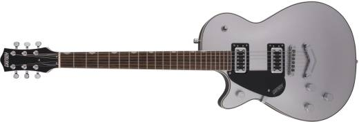 G5230LH Electromatic Jet FT Single-Cut with V-Stoptail - Airline Silver