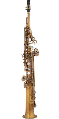 ESS652 52nd Street Soprano Saxophone - Unlacquered