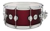 Drum Workshop - Design Series 6.5x14 Maple Snare - Crimson Metallic