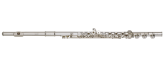 Haynes Flutes - Q1 Silver Plated Flute with Offset G, Split E