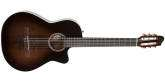 Godin Guitars - Arena Pro CW Bourbon Burst Crescent II Nylon Guitar w/Gig Bag